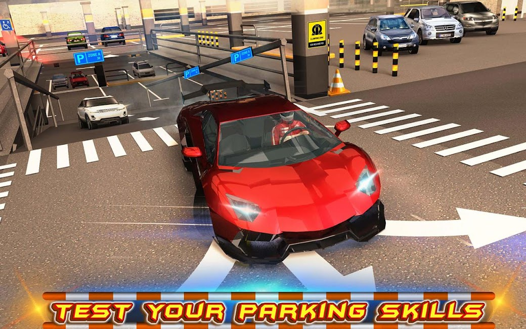 #7. Multi-storey Car Parking 3D (Android)