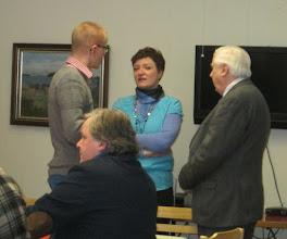 Photo: Riku Savonen, Svetlana Sivil och Heikki Talvitie