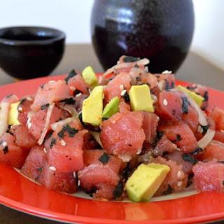 Avocado Tuna Poke.