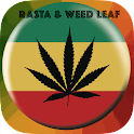 Rasta Weed Leaf Wallpaper icon