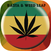 Rasta Weed Leaf Wallpaper