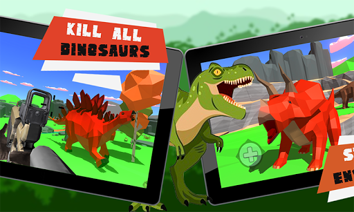 Télécharger Gratuit Wild Dinosaur Hunter: Dino Hunting Games apk mod screenshots 2