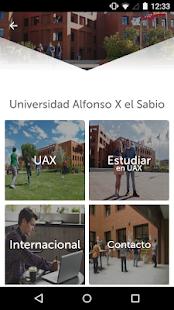 UAX App Uni.Alfonso X el Sabio - náhled