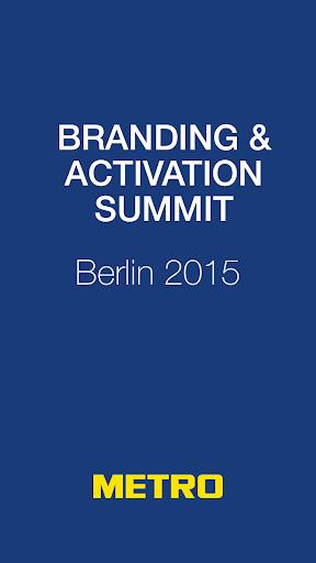 Branding Activation Summit