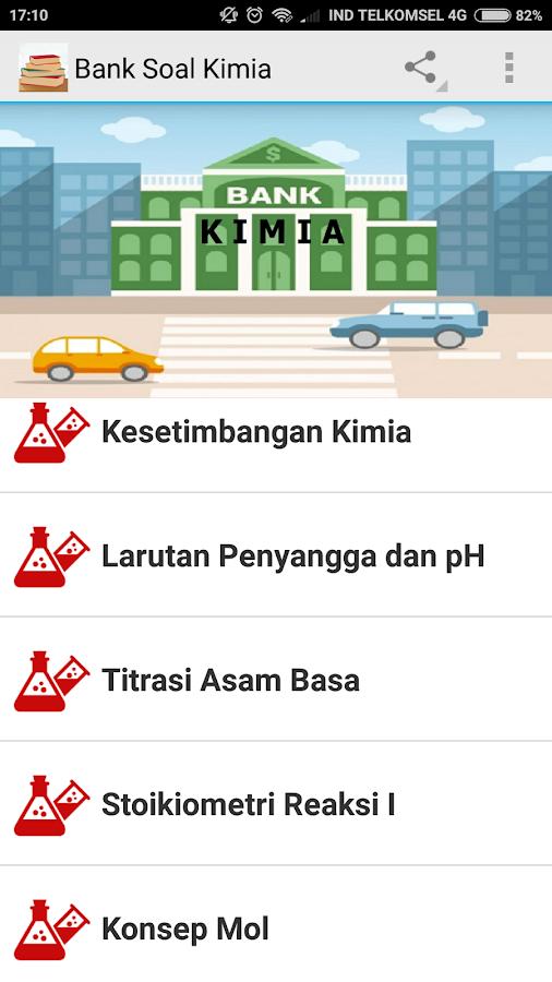 Bank Soal Kimia Sma Smk Android Apps On Google Play