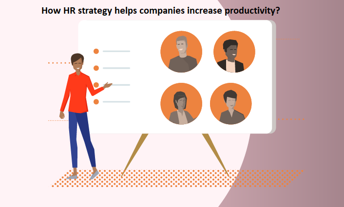 HR strategy helps companies increase productivity