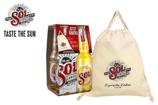 Bild für Cashback-Angebot: Gratis Canvas Bag von SOL - Sol