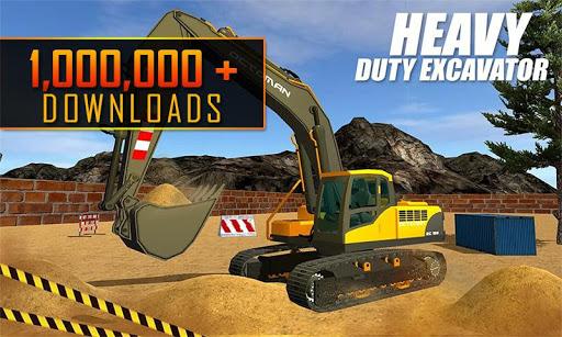 Heavy Excavator Crane: Construction City Truck 3D painmod.com screenshots 2