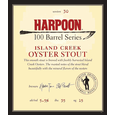 Logo of Harpoon 100 Barrel Series Island Creek Oyster Stout