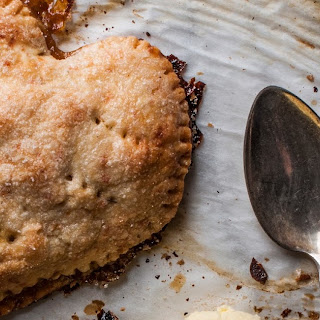 Cheddar Apple Heart-in-Hand Pies