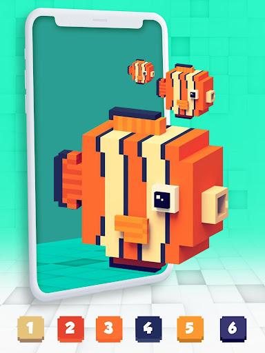 Color By Number Pixel Art 3D 1.0 screenshots 3