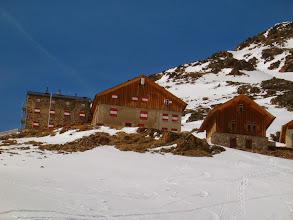 Photo: Winterraum je chatka vpravo