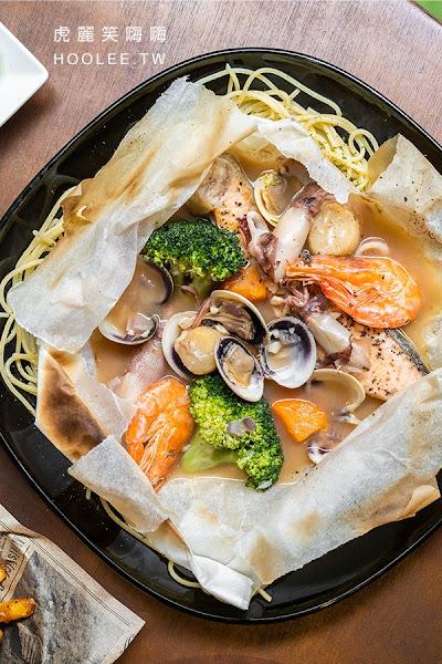 森夜早午餐(高雄)全天候供應早午餐!必吃義式香料紙包海鮮,白酒奶油鮭魚義大利麵