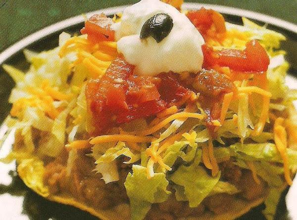 El Zorro's Tostadas Recipe