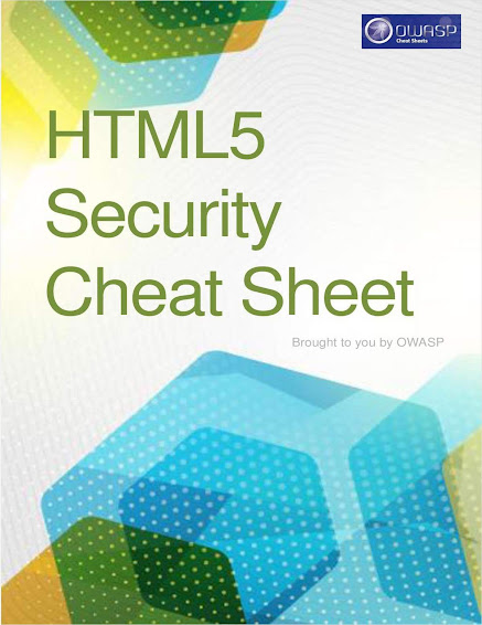 OWASP HTML5 Security Cheat Sheet Guide