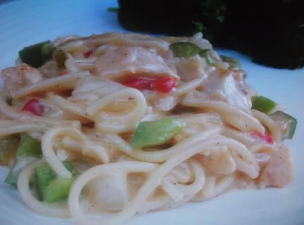 Texas Spaghetti Chicken By Eddie Recipe