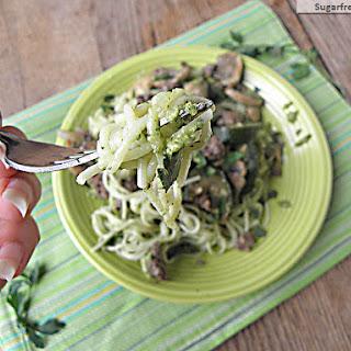 Turkey Vegetable Pesto Bolognese