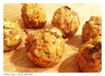 Crispy Baked Tuna Balls - Good!