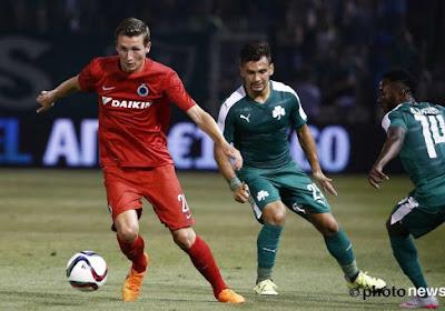 Club Brugge verliest met 2-1 van Panathinaikos