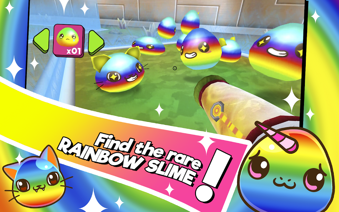 Kawaii Slime Farmer Rainbow Unicorn 3d Ranch Apk Download Free