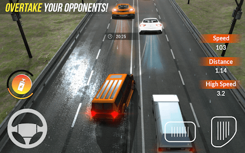Traffic  Racing  Nation:  Traffic  Racer  Driving Screenshot