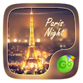 Paris Night GO Keyboard Theme