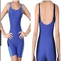 Swimwear design icon