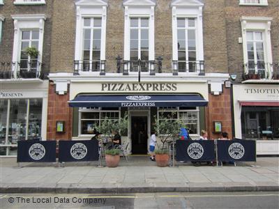 Pizzaexpress On Moreton Street Restaurant Italian In