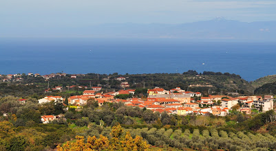 Photo: Zambrone e il golfo di S.Eufemia,Calabria.