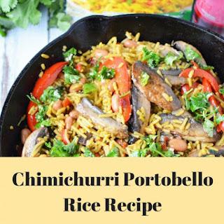 Chimichurri Portobello Rice.