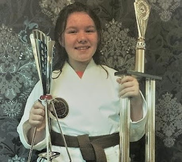 Katies martial art triumph