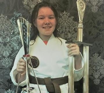 Katie's martial art triumph