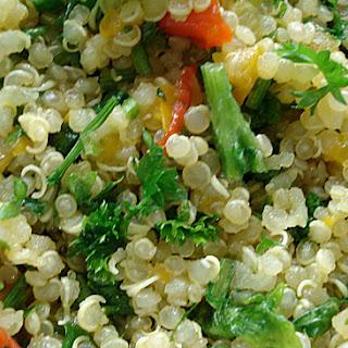 Quinoa, Parsley And Pepper Salad