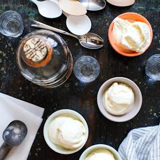 Cold Steeped Vanilla Mezcal Ice Cream