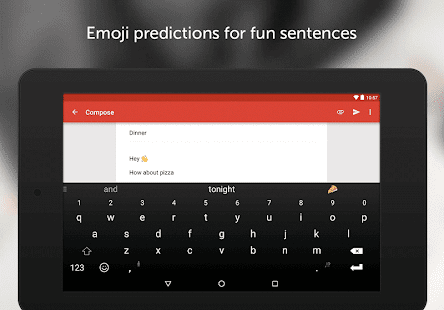SwiftKey Keyboard- screenshot thumbnail