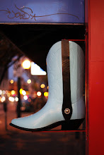 Photo: Boot City. Shooting on Main Street, Vancouver BC at night with the Zuiko 50mm f1.8 and EOC 5Dmkii.