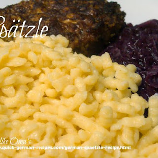 Dried Spaetzle Noodles Recipes