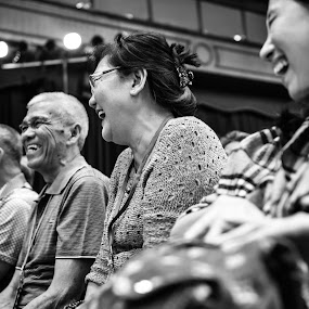 three generation by Andy Yusuf - Black & White Portraits & People ( all be happy,  )