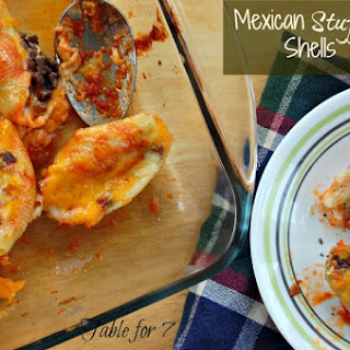 Mexican Stuffed Shells.