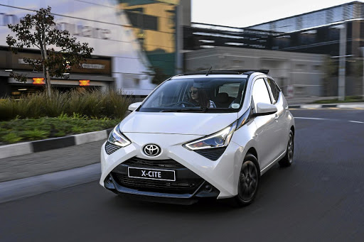 The Toyota Aygo has been spruced up ever so slightly with new daytime running lights. Picture: MOTORPRESS