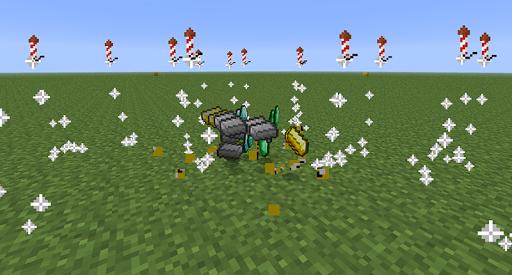 Lucky Block Mod for Minecraft Screenshot