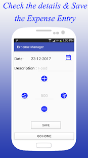 Expense Manager - Offline - náhled