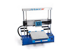 MAKEiT PRO-M High Resolution Dual Extruder 3D Printer