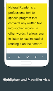 Text to Speech - NaturalReader- screenshot thumbnail
