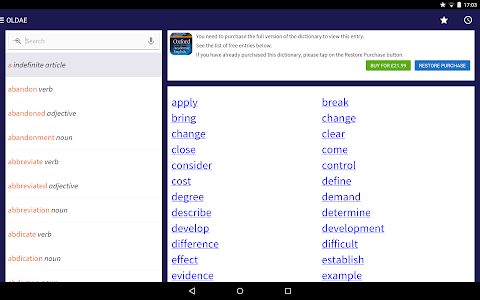 Oxford Learner's Academic Dict v1.0.19.0 (Unlocked)