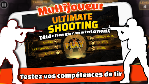 Code Triche Ultimate Sniper: 3D Tireur d'arme à feu apk mod screenshots 1