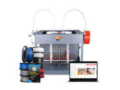 Craftbot 3D Printer Educational Bundle - CraftBot 3