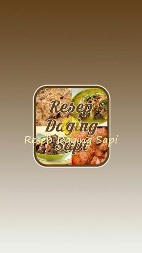 Resep Daging Sapi