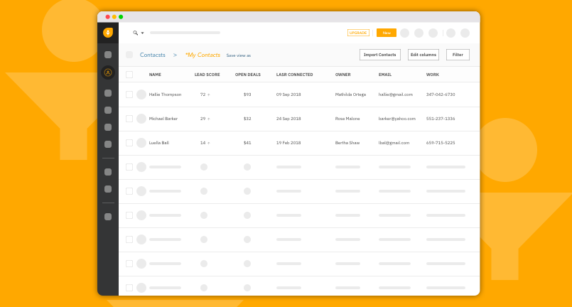 Freshsales is a CRM platform that touts AI-based lead scoring, a built-in phone and email system, and a top-down interface for managing your sales pipeline.