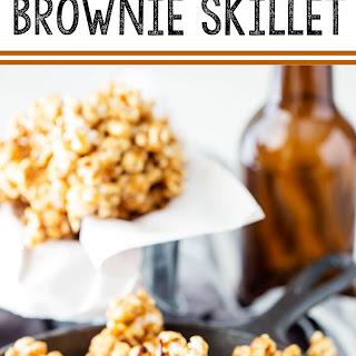 Caramel Crunch Brownie Skillet